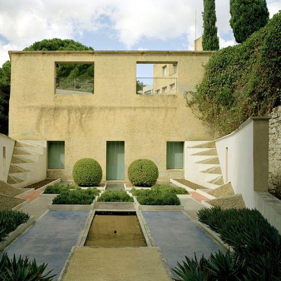 gabriel guévrékian architecte paysagiste / jardin cubiste parc st ...