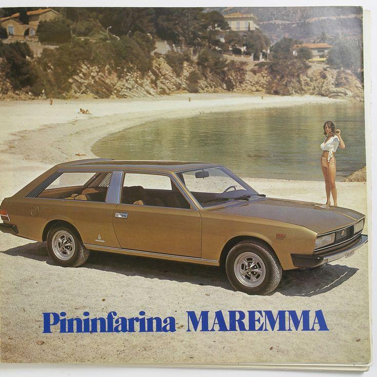 Fiat 130 Maremma Coupé Pininfarina Shooting Brake