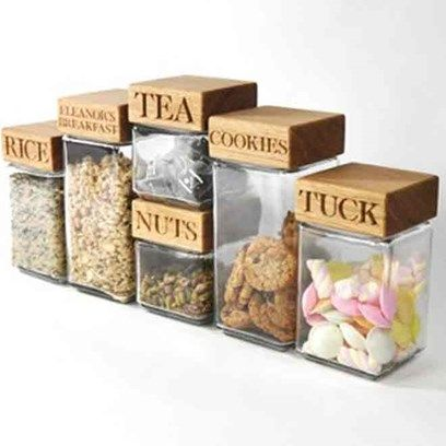 'Personalised Jars' from The Oak and Rope Company