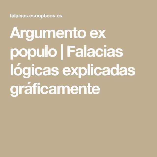 Argumento ex populo | Falacias lógicas explicadas gráficamente