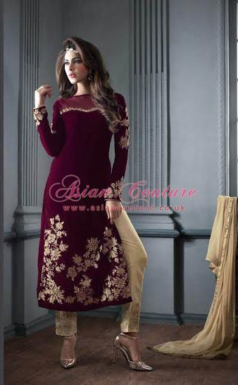 Stunning New #Maisha Maskeen Velvet Collection ! It's time to renew your winter wardrobe with our new velvet Collection To Order Please follow this Link > https://www.asiancouture.co.uk/Maskeen-Addiction-Senora-By-Maisha#/sort=p.sort_order/order=ASC/limit=30/page=2 #Maisha #Velvet #Maskeen #Indian #Suits #Uk #USA #CANADA