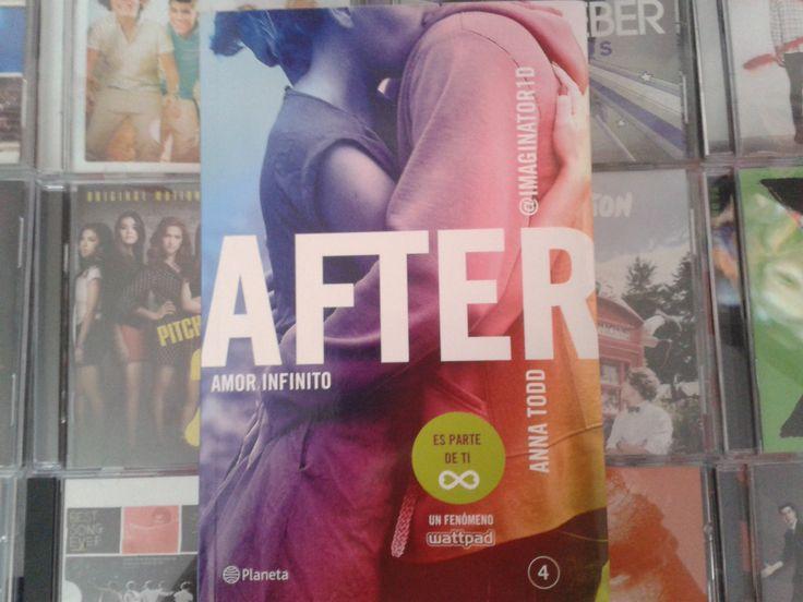 """""""After: Amor Infinito"""" escrito por Anna Todd:"""