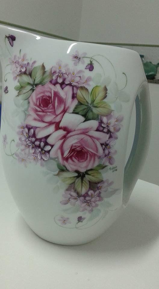 Les 355 Meilleures Images Du Tableau Vase Sur Pinterest Peinture Sur Porcelaine Porcelaine Et
