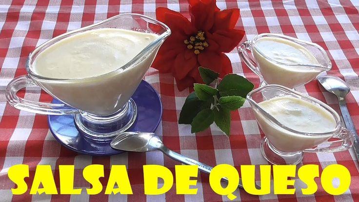 SALSA DE QUESO FÁCIL  (PARA CARNES Y PASTA)
