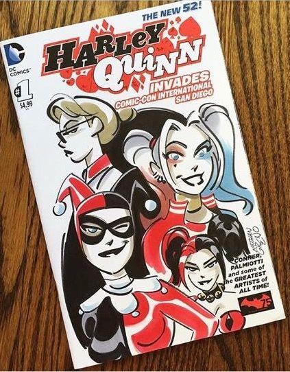 New comic Harley quinn