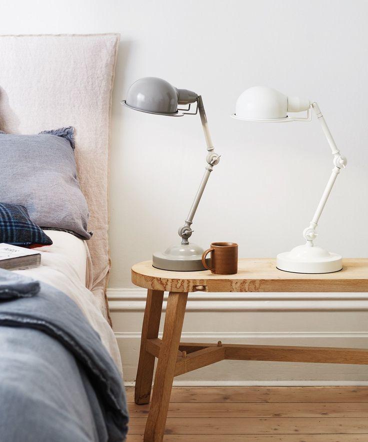 Elton Table Lamp in Vanilla