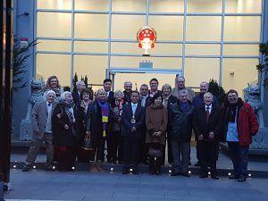 Bönnsche Chinese zu Gast im Landtag bei MdL Guido Déus
