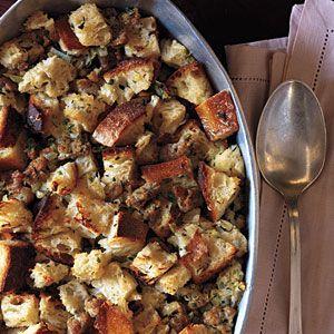 Sausage and Sourdough Bread #Stuffing | MyRecipes.com