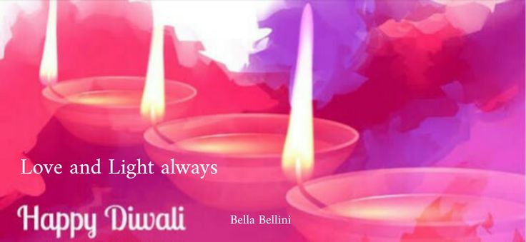 May the #Divine_Light of #Diwali_Diyas spread Peace, Prosperity, Happiness and Good Health in your life Bella's and Beau's. A #Blessed Diwali to you all. ♥Bella♥
