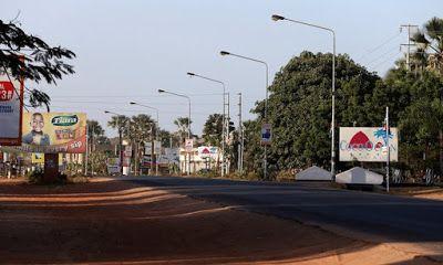 RUDI AFRIKANIS: Ibukota Gambia Sepi di Hari Pergantian Presiden