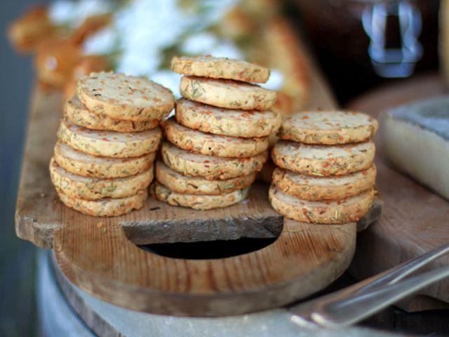 Leilas rosmarinkex med parmesan (kock Leila Lindholm)
