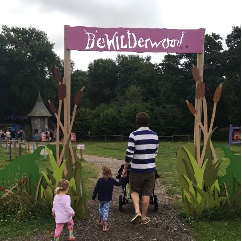 3 little ladies and me: A day at Bewilderwood