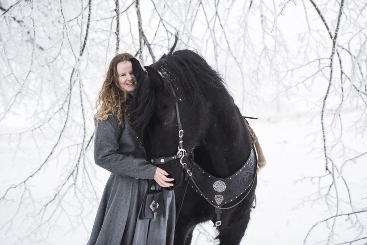 Viking skinnveske- Birka - Klesarven