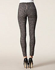 Funky Ruby Highwaist Leggings - Pieces - Grijs - Broeken & shorts - Kleding - NELLY.COM