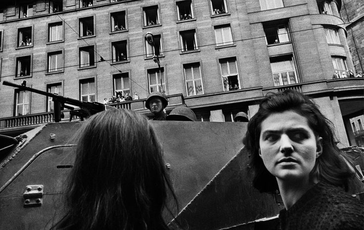 Josef Koudelka, Invasion by Warsaw Pact Troops, Prague, August 1968