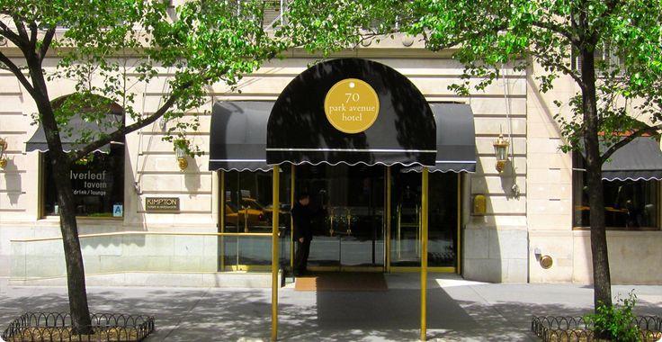 70 Park Avenue Hotel New York. Super ligging vlakbij metro station en Empire State.