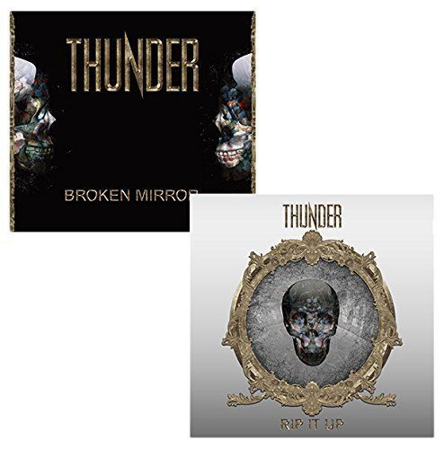 Thunder 'Rip It Up' Limited edition CD   2 CD live CD   'Broken Miller' EP F/S