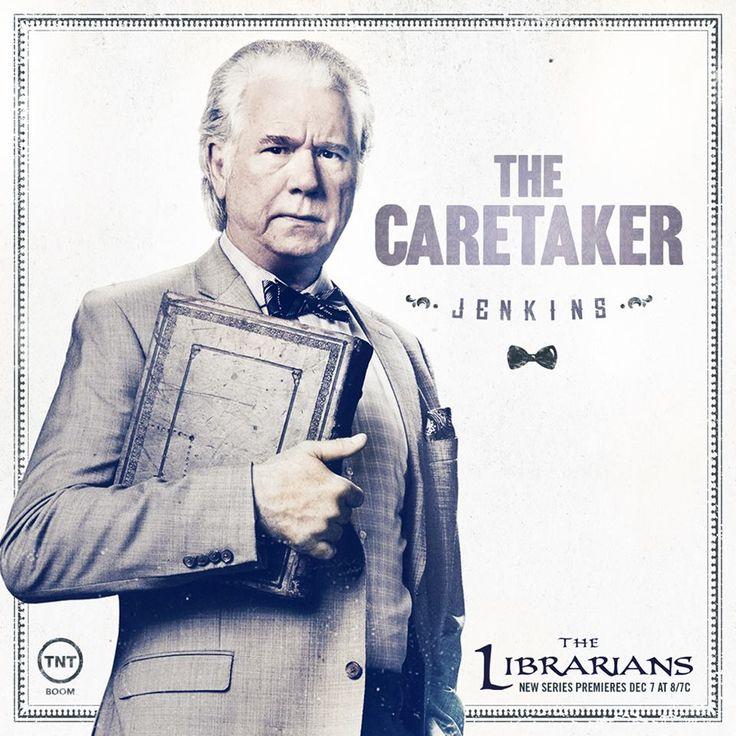 The Librarians, Jenkins (John Laroquette), the Caretaker aka Galahad, 2015.