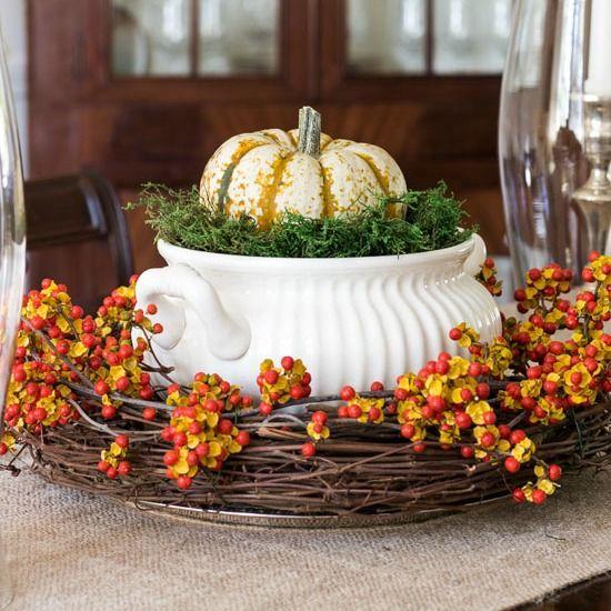 Thanksgiving fall centerpiece ideas