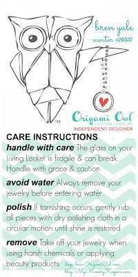 Memory Keepers ~ Origami Owl Living Lockets ~ FREE printable chevron patterns!