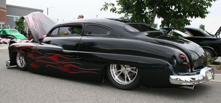 Used Car Values: Mercury Lead Sled (black with flames)