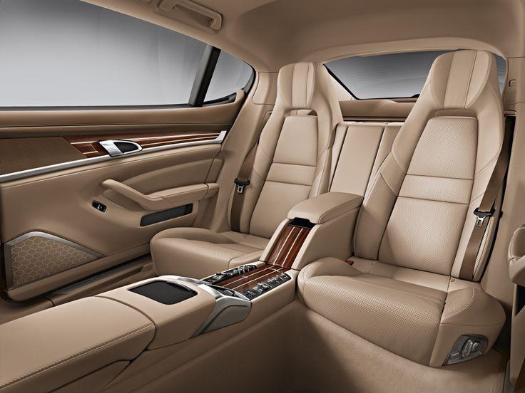 Porsche Panamera 2014 interior.