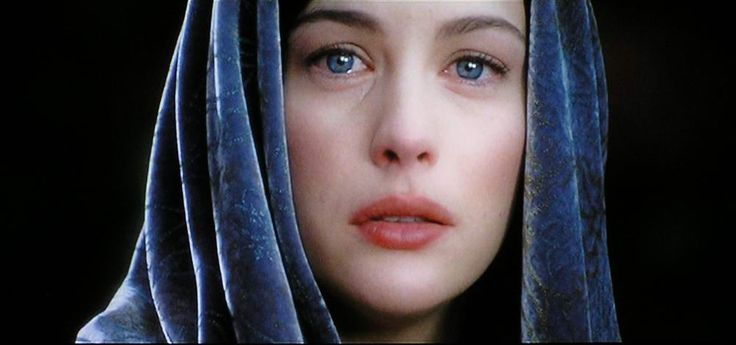 I can't watch this scene without bawling my eyes out. The ever-living hope Arwen holds is inspiring.