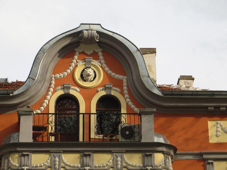 Lion head. / Plovdiv. Bulgaria