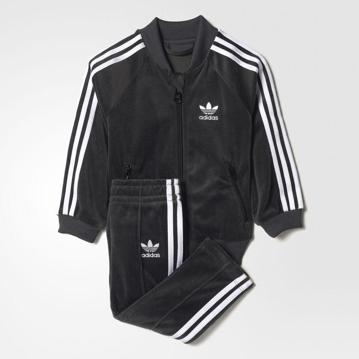 adidas - Velour SST Trainingsanzug