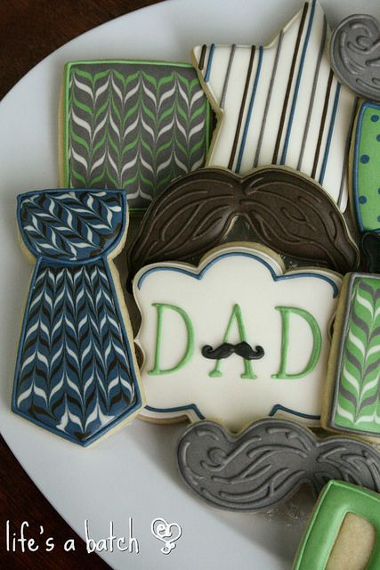 Father's Day cookies. | Flickr - Photo Sharing!