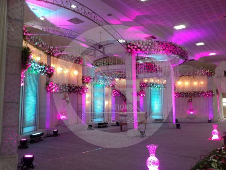 Reception Stage Backdrops