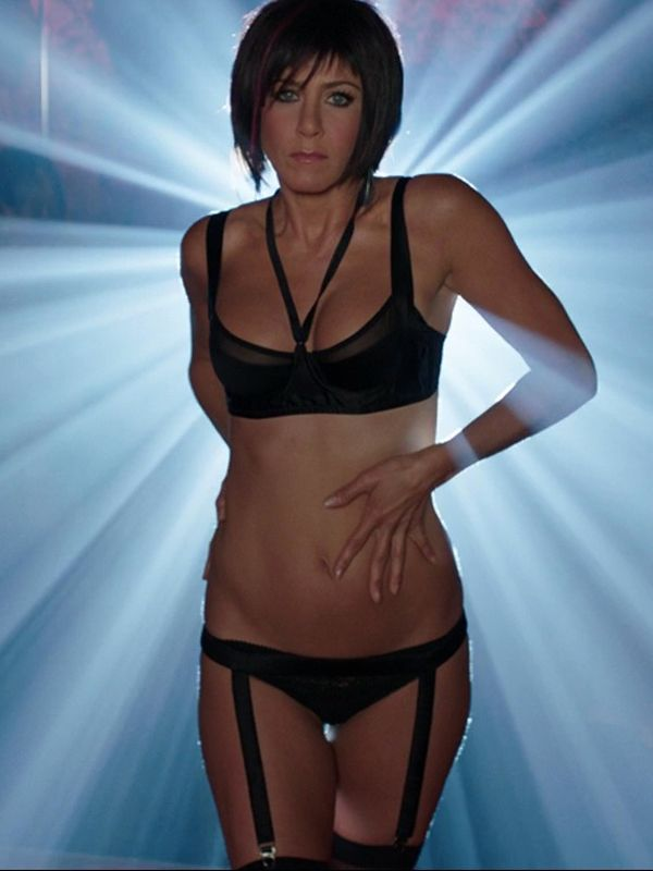 Jennifer aniston underpants, triple fucked gif