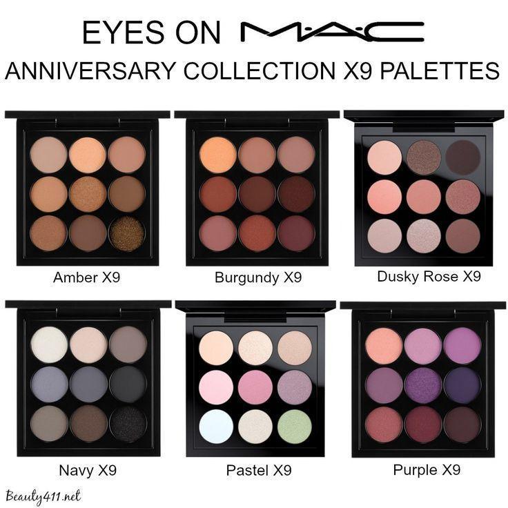 MAC 'Eyes on MAC' Anniversary X9 Palettes