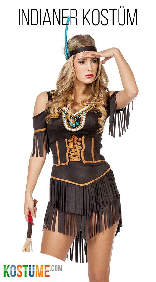 Indianerin Josie Damenkostum Bei Kostume Com Indianer Kostum
