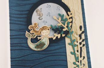 Stampin' Up! Magical Day mermaid