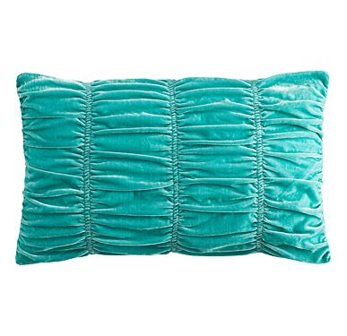 Ruffled pillow case - there\u0027s a knitting pattern similar to this; a pillow case would