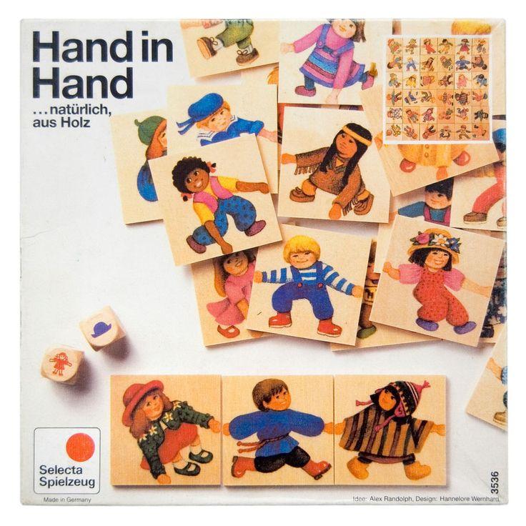 Hand in Hand Selecta Spiel | Antikes Spielzeug - loverares.de