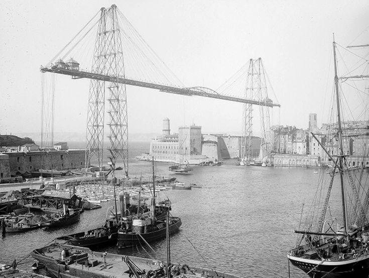 Vidéo : Ils ont détruit le pont transbordeur à Marseille
