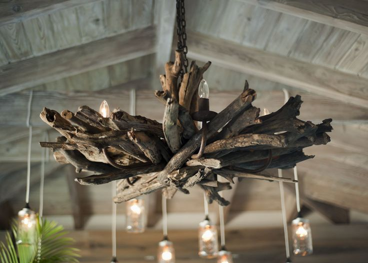 Superb Driftwood Chandelier In Beach Cabana. Home Design By Novogratz. Browse Driftwood  Decor On Completely