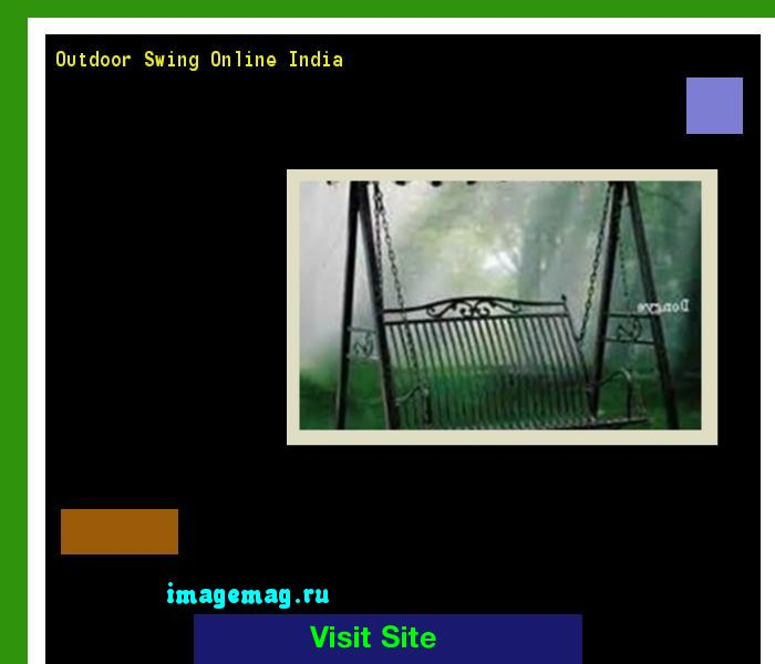 Outdoor Swing Online India 084910 - The Best Image Search