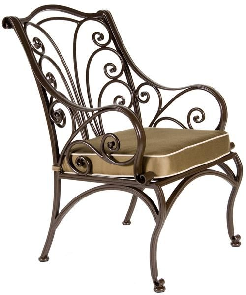 Traditional Outdoor Dining Chair From OW Lee, Model: Ashbury Collection