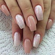 Маникюр гель-лаком (нарощенные ногти) (37 фото) - Дизайн ногтей
