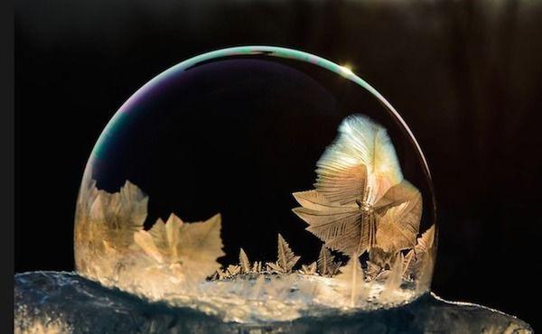 結晶が生まれる