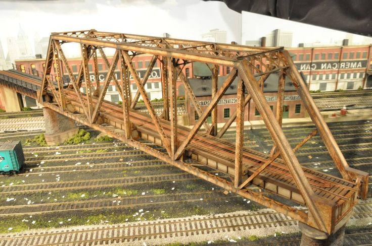 Building a Model Railroad Bridge | industrialmodels