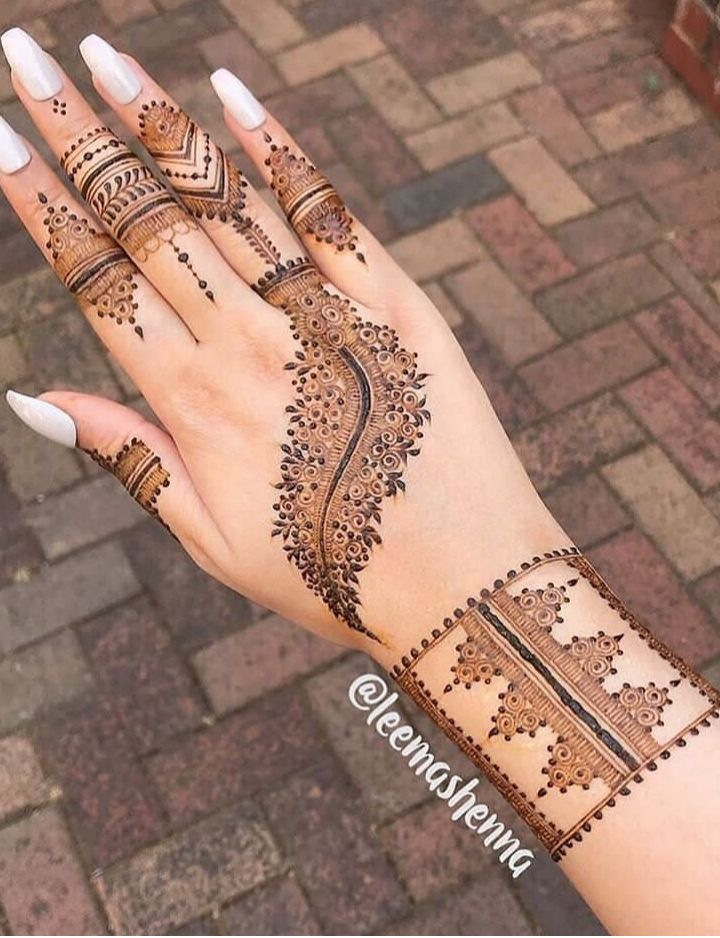 Mehndi Designs For Hands Image By Pushti On Mehandi Mehndi