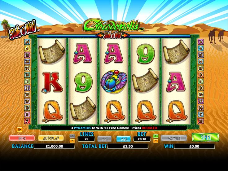 Play this 5 Reel 25 Payline Online at Crazy Vegas Casino. It's a Video Slot with crisp graphics and an entertaining theme! https://www.crazyvegas.com/