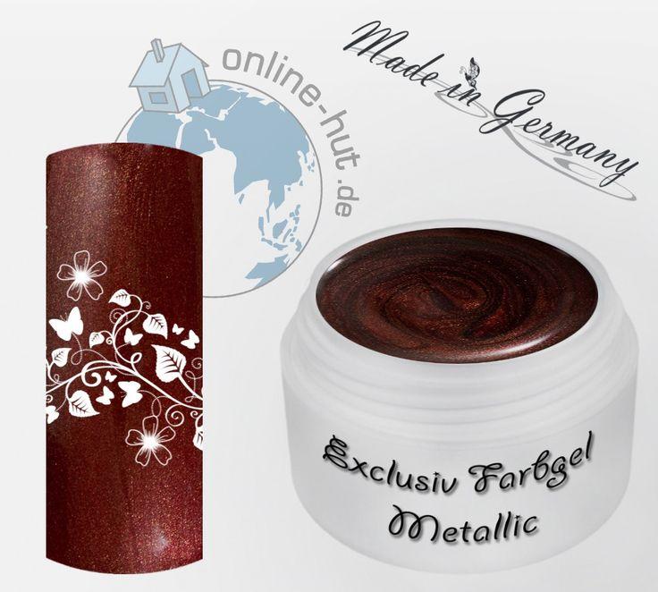 5ml UV Exclusiv Farbgel Metallic Dirty Dance