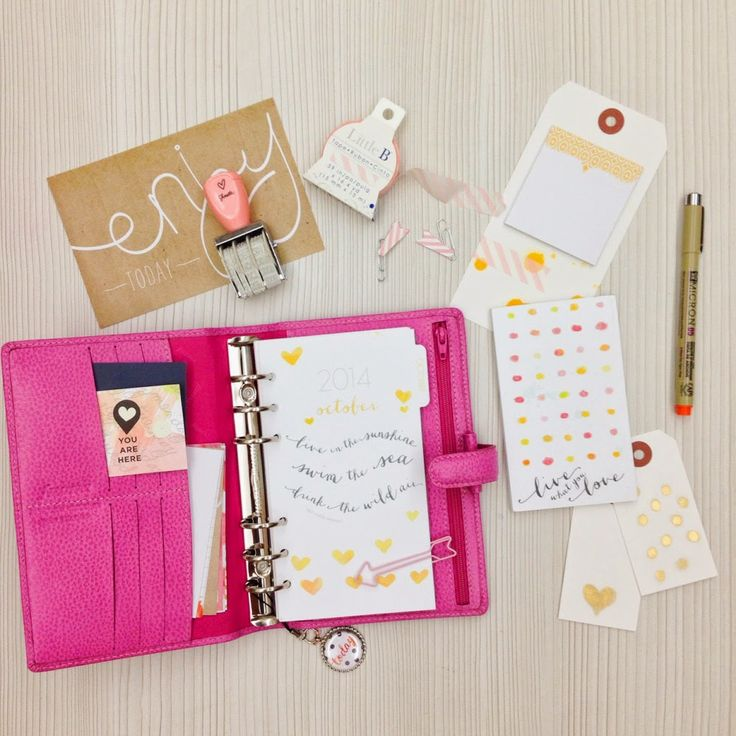 Happiness is Scrappy: Planner   My First Cocoa Daisy Day Planner Kit