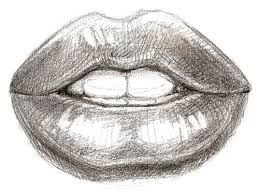 Bilderesultat for mouth drawing step by step