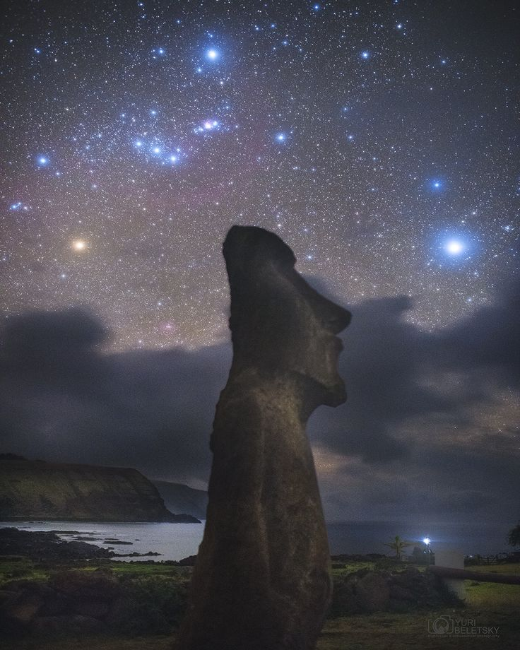 Orion over Easter Island.. Astronomy Picture of the Day 17 Sep 17